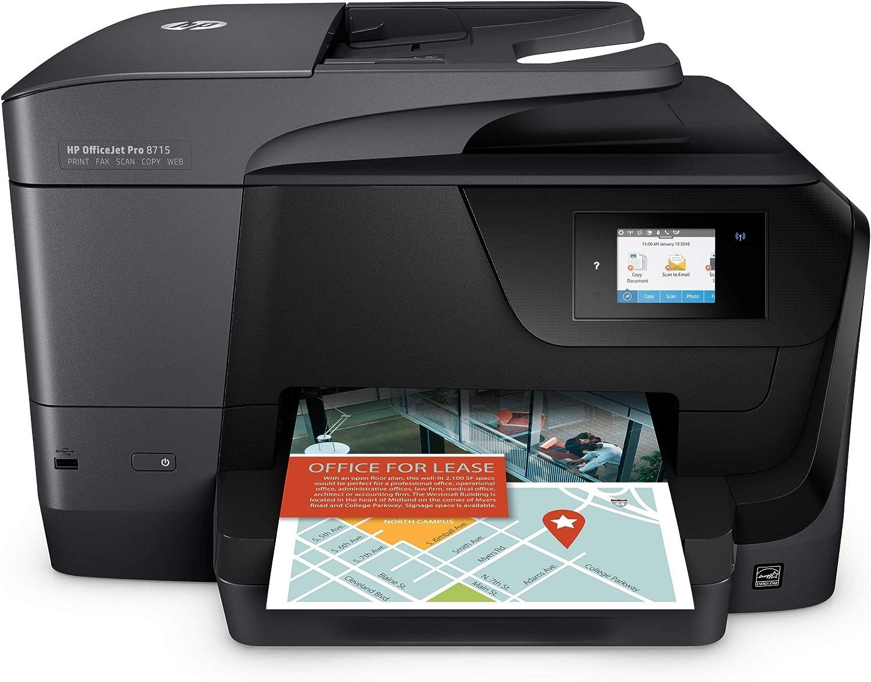Hp Officejet Pro 8715 Multifunktionsdrucker Mit 3 Computer Zubehör