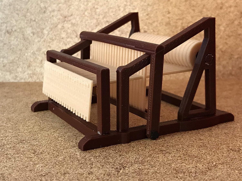 Telar miniatura escala playmobil, impresión 3D - Figuras playmobil ...