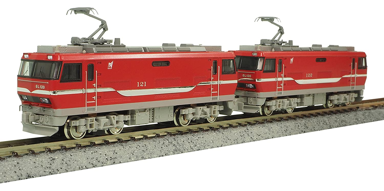 グリーンマックス Nゲージ 名鉄EL120形電気機関車 2両  M+T セット  動力付き  30655 B071V7X62R