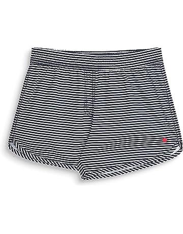 56c8ffd65d0e ESPRIT - Basicstripe Beach Ygsurf Shorts, Pantaloncini da Bagno Bambina