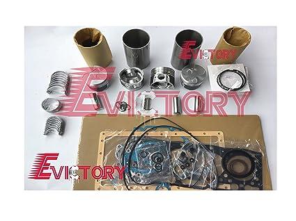Amazon com: For kubota excavator V1305 overhaul rebuild kit