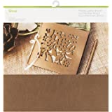 Cricut Leather Metallic, Bronze 12X12