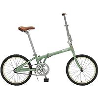 Critical Cycles Judd Single-Speed Folding Bike with Coaster Brake