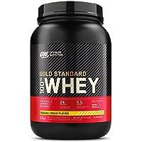 Optimum Nutrition Gold Standard 100% Whey Protein Powder, Banana, 907 Grams