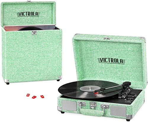 Victrola Vintage 3-Speed Portable Suitcase Record Player review
