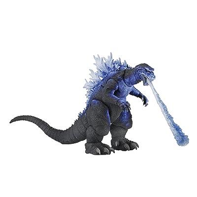"NECA - Godzilla 12"" HTT Action Figure - 2001 Atomic Blast Godzilla: Toys & Games"
