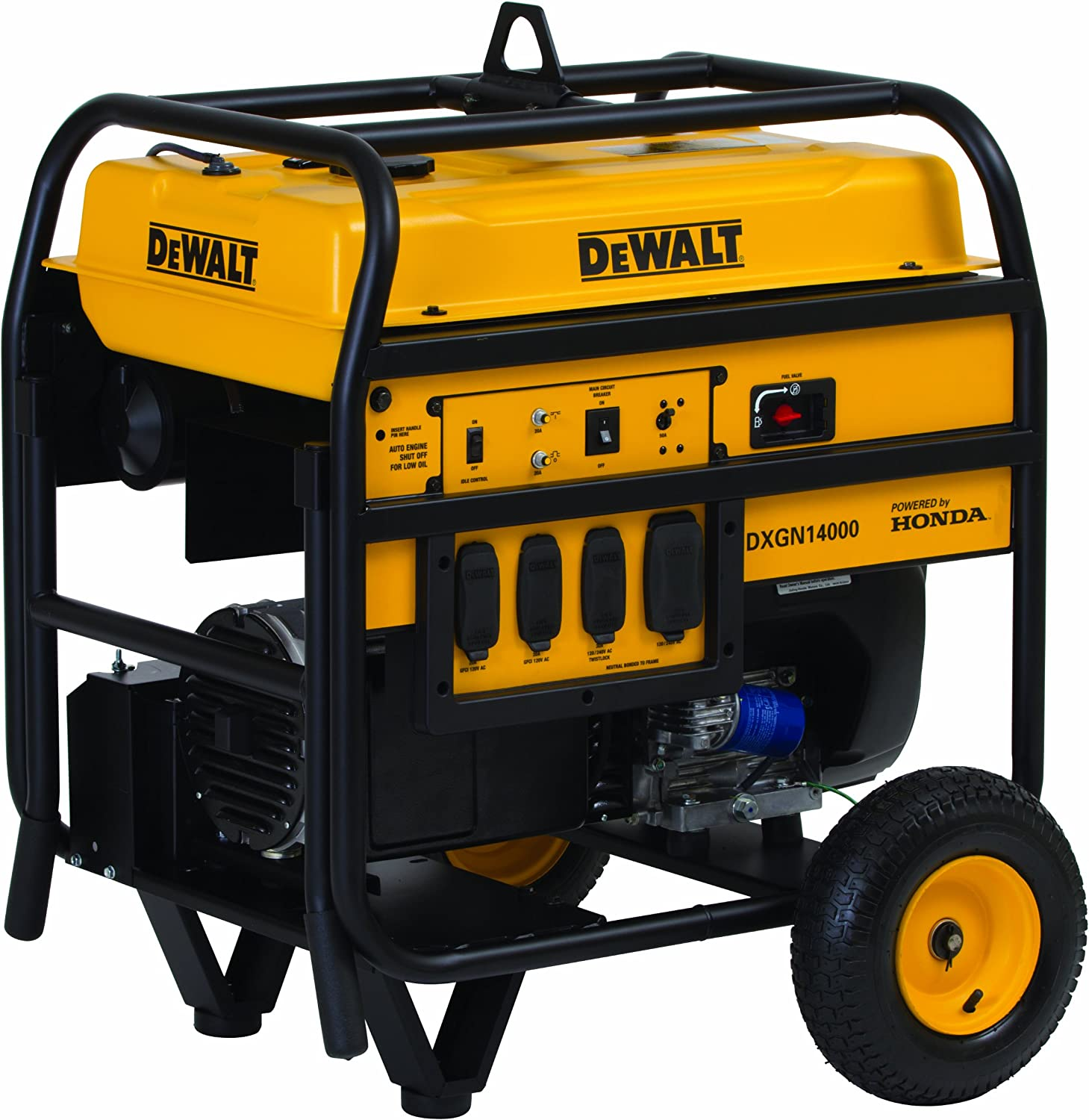 [DIAGRAM_38IU]  Amazon.com : DEWALT 14000 Watt Commercial Generator, Electric Start : Power  Generators : Garden & Outdoor | Dewalt Generator Wiring Diagram |  | Amazon.com