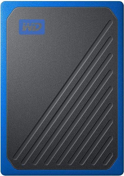 WD ポータブルSSD 2TB USB3.0 ブルー My Passport Go 外付け / 3年保証 【PS4 / Xbox Oneメーカー動作確認済】