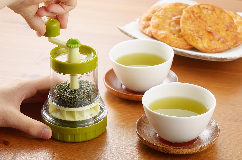 クラフトタナカ 一茶 お茶ミル 計量スプーン付き TM-40