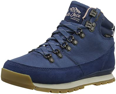 5d9f50fe2 The North Face Womens Back to Berkeley Redux Waterproof Snow Ankle Boots -  Blue Wing Teal