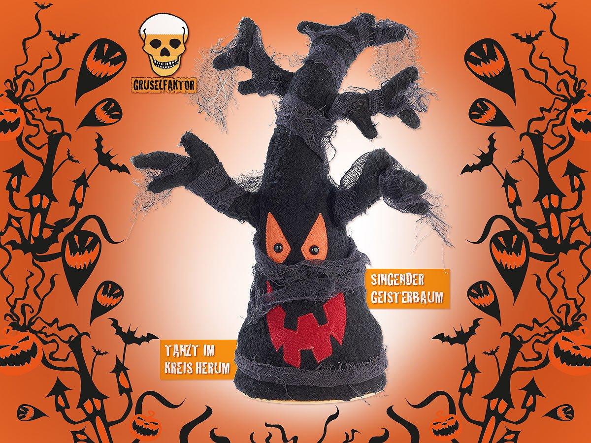 Singender und rockender Besen Igor Halloween-Accessoire