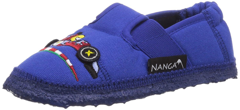 Nanga Hot Road, Jungen Flache Hausschuhe, Blau (35), 21 EU