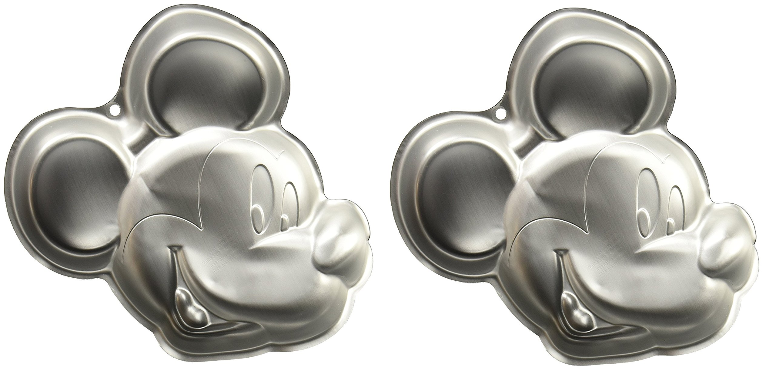 2 X Wilton Mickey Mouse Clubhouse Cake Pan