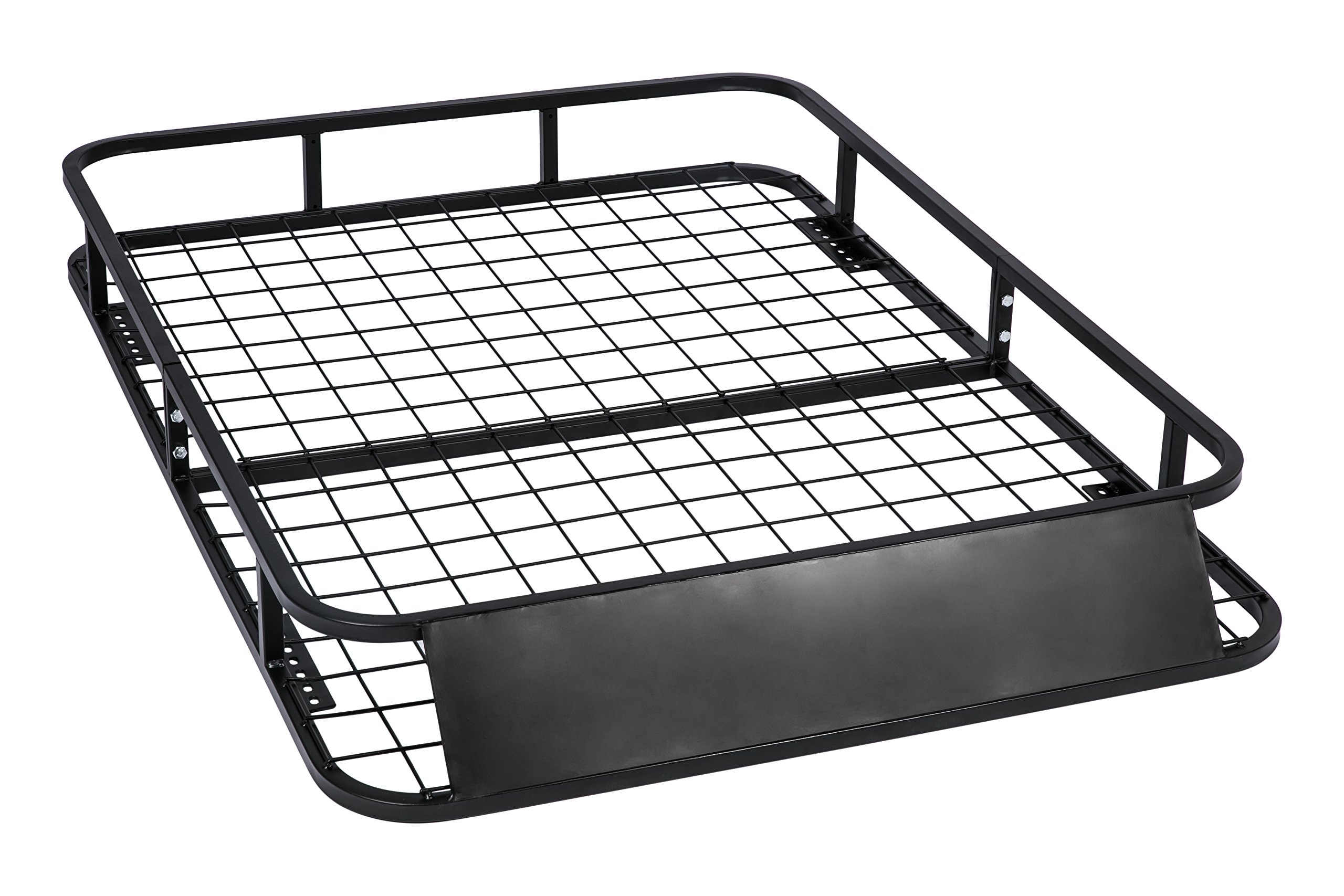 Universal Roof Rack for Truck (Cargo Car Top Luggage Carrier Basket Traveling SUV Holder) by MPH Production