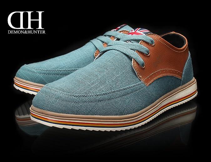 Turquesa Hombre Sneaker Moda Demon S4l2399t amp;hunter Zapatillas ABwqxx6t
