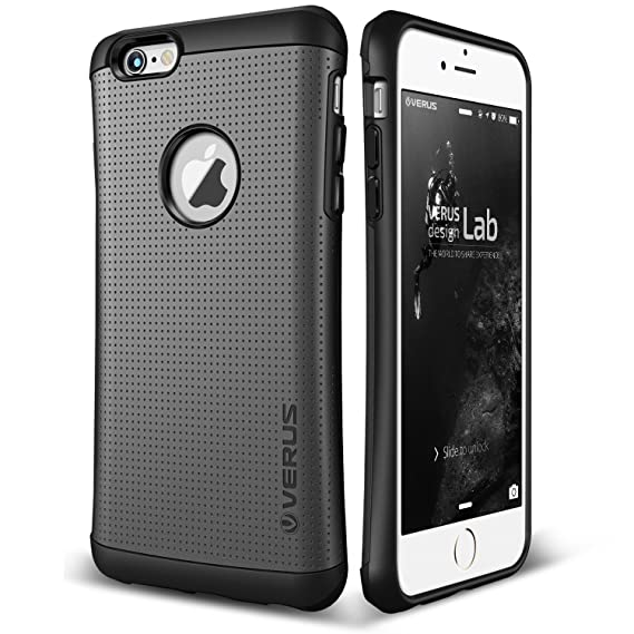 online store 31df8 e43c3 iPhone 6S Case, Verus [Thor][Charcoal Black] - [Military Grade Drop  Protection][Natural Grip] For Apple iPhone 6 6S 4.7