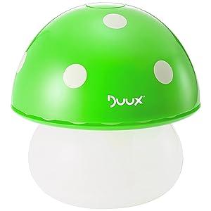 Duux Air Humidifier and Night Light - Mushroom Green