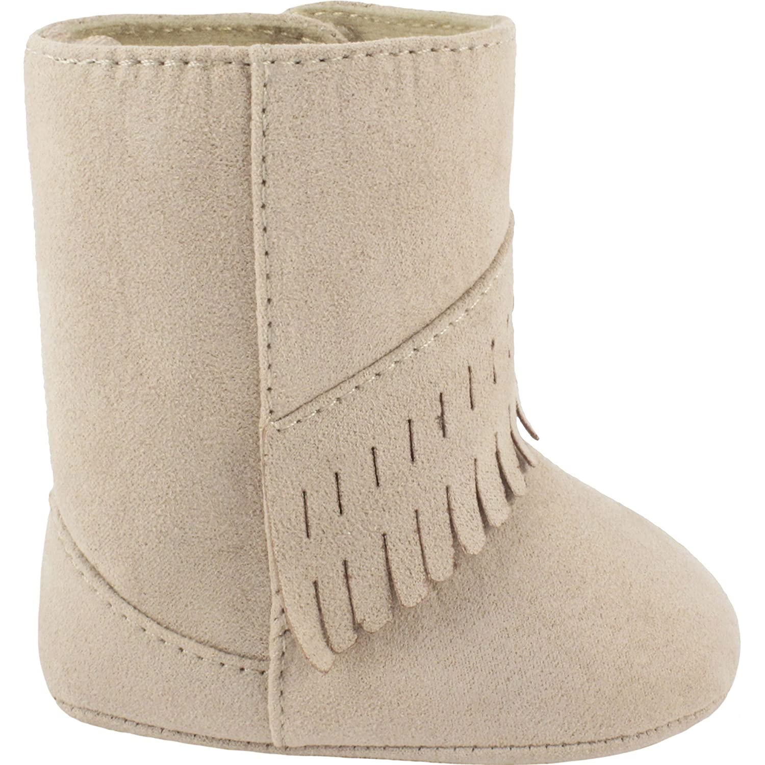 978ee2a32 Amazon.com | Wee Kids Baby-Girls Suede Cloth Western Baby Boots Fringe Trim  Infant Crib Shoes/Baby Shoes Cowboy Boots | Boots