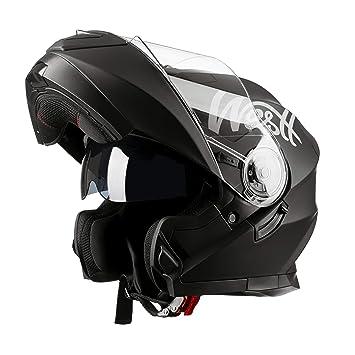 Amazonfr Westt Torque X Casque Moto Modulable Double Visière