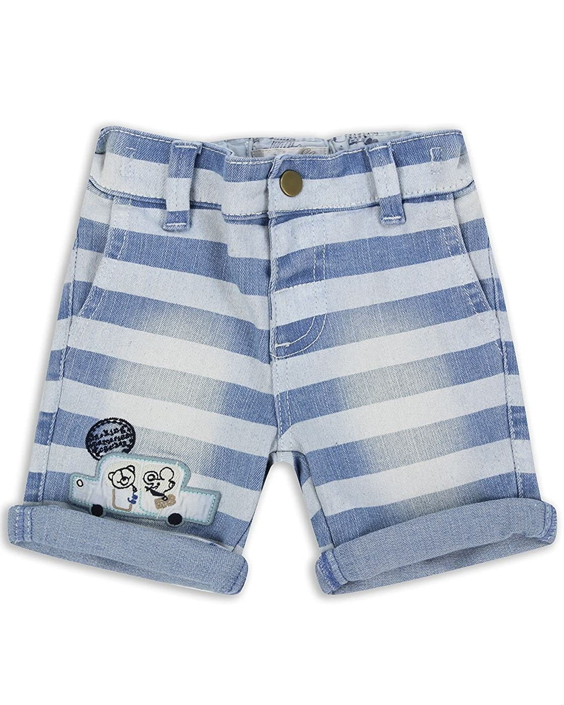 The Essential One Baby Kids Boys - Striped Shorts - Blue - EOT214