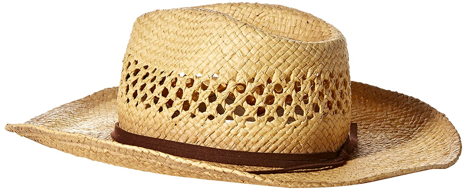 c1c56a43f Bud Light Men's Paper Straw Cowboy Hat: Amazon.in: Clothing & Accessories