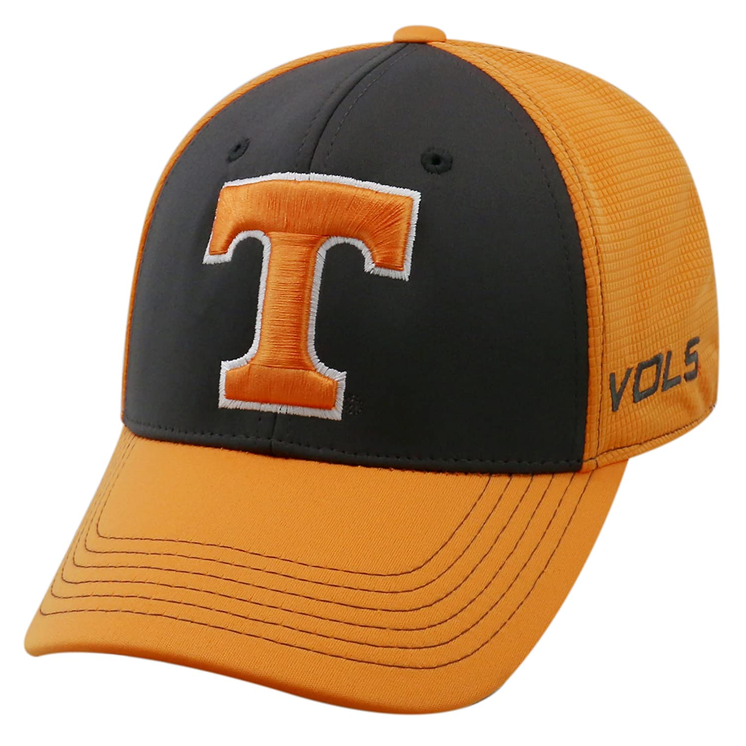 new arrival e0afa 74f8e Amazon.com   Top of the World NCAA-Dynamic-One-Fit-Memory Fit-Hat Cap    Clothing
