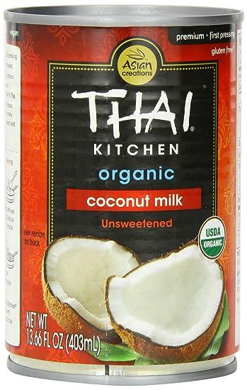 Thai Kitchen Organic Coconut Milk ( 12x14 OZ): Amazon.com: Grocery ...