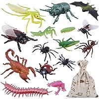 OOTSR Paquete de 15 Figuras de Insectos