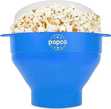 Amazon.com: POPCO pochoclera para microondas de silicona con ...