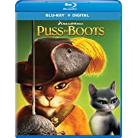 Puss in Boots Blu-ray + Digital