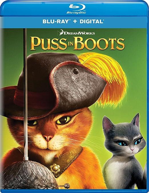 Amazon com: Puss in Boots [Blu-ray]: Antonio Banderas, Salma