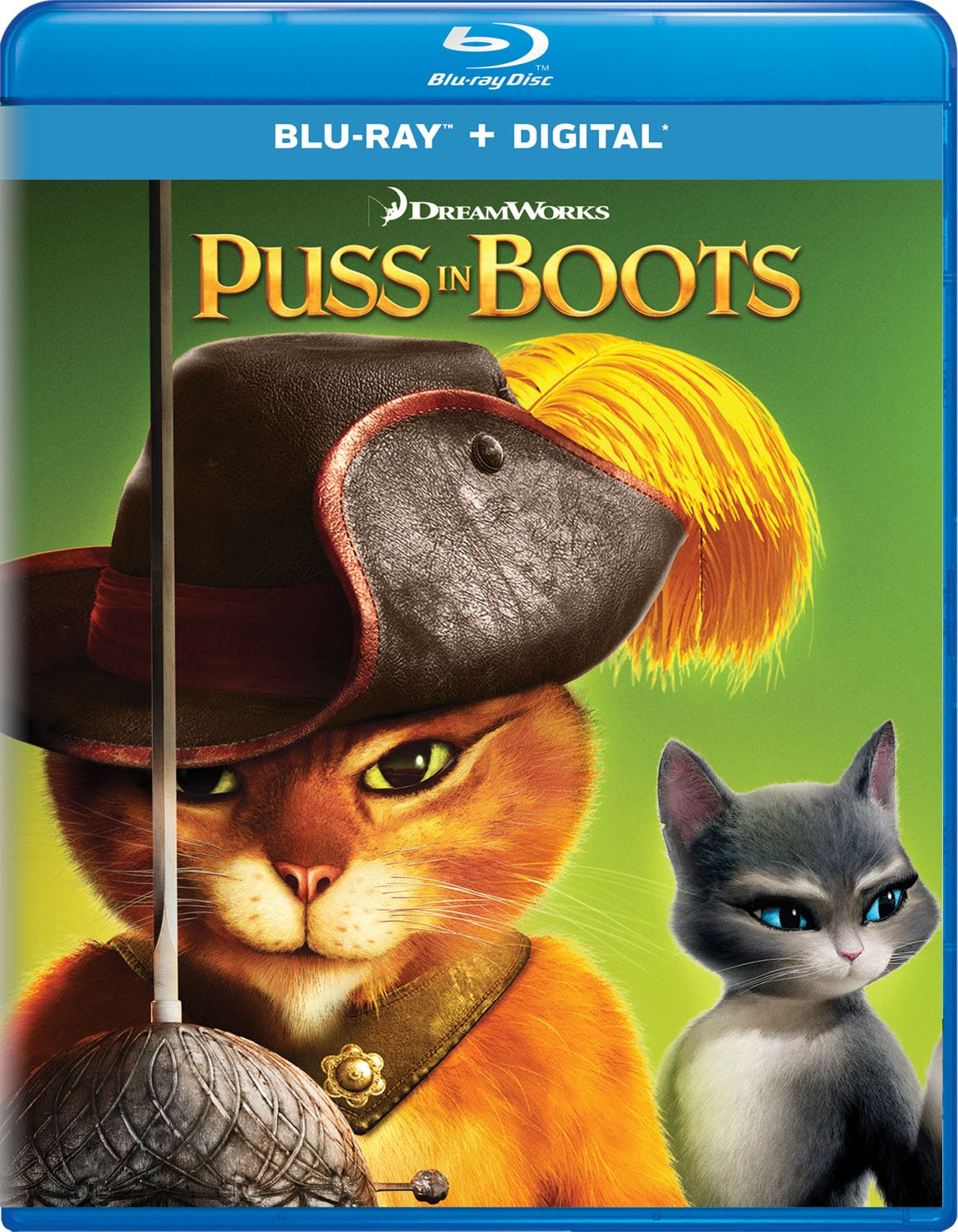 Blu-ray : Puss In Boots (Digital Copy)