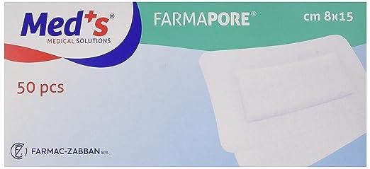 8 opinioni per Farmac Zabban 1206310815M FarmaPORE Medicazione Adesiva in Cerotto 8 x 15 cm in