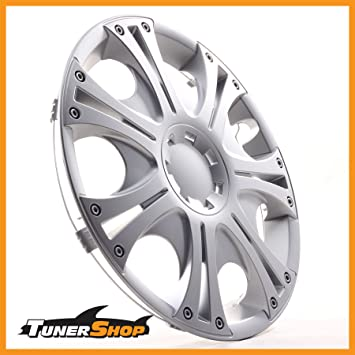 Drift Wheel Trims Hub Caps 16 Inch for Peugeot Wheel #2432322 Silver Winter and Summer