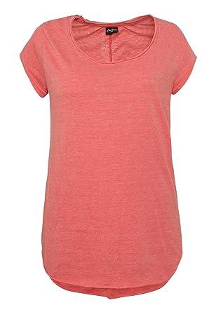 ae5c0c89afe6 Sublevel Vintage Damen T-Shirt   Elegantes Shirt mit Used Washed Effekt   Amazon.de  Bekleidung