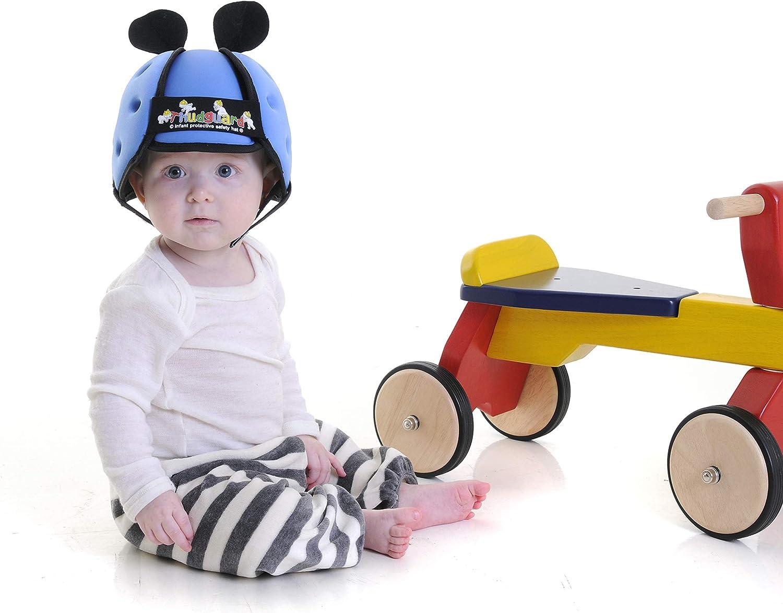 Thudguard Baby De Protection Casque Sécurité Pour les tout-petits Learning to Walk-Bleu