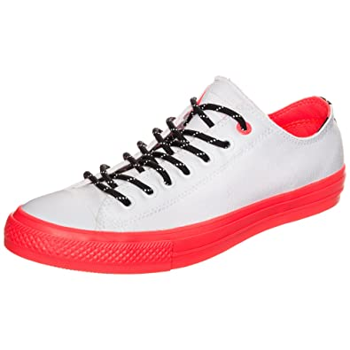 5d6e8c812b8d Converse Chuck Taylor All Star II Shield Canvas Ox White Lava Gum Lace Up
