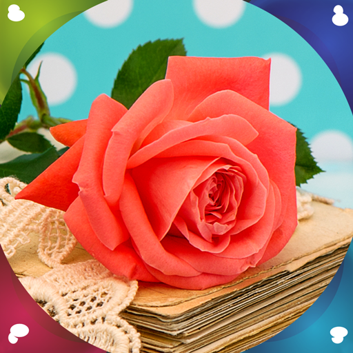 Rose Bouquet Passionate - Rose Flower Live Wallpapers