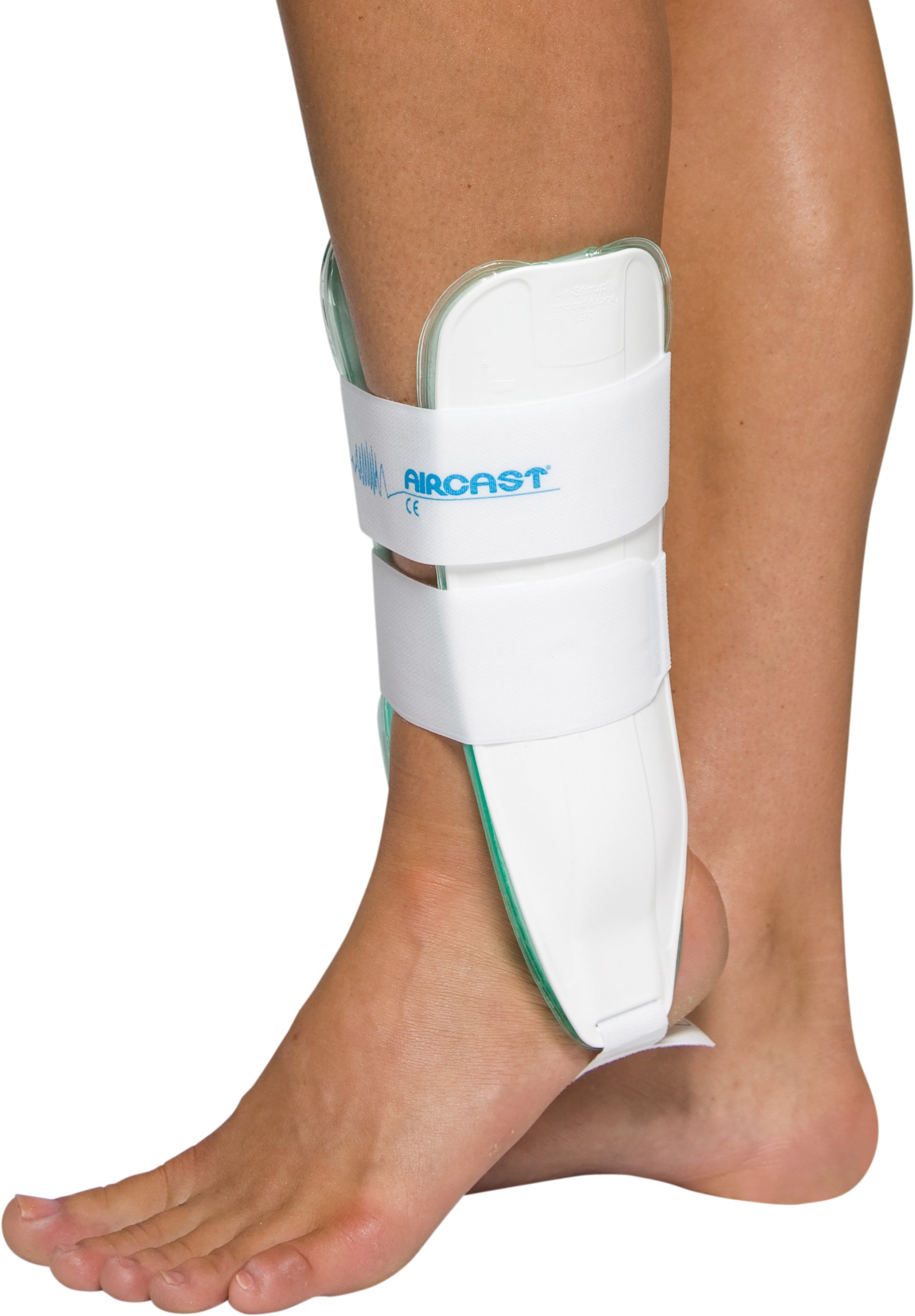 Aircast Air-Stirrup Ankle Support Brace, Left Foot, Large