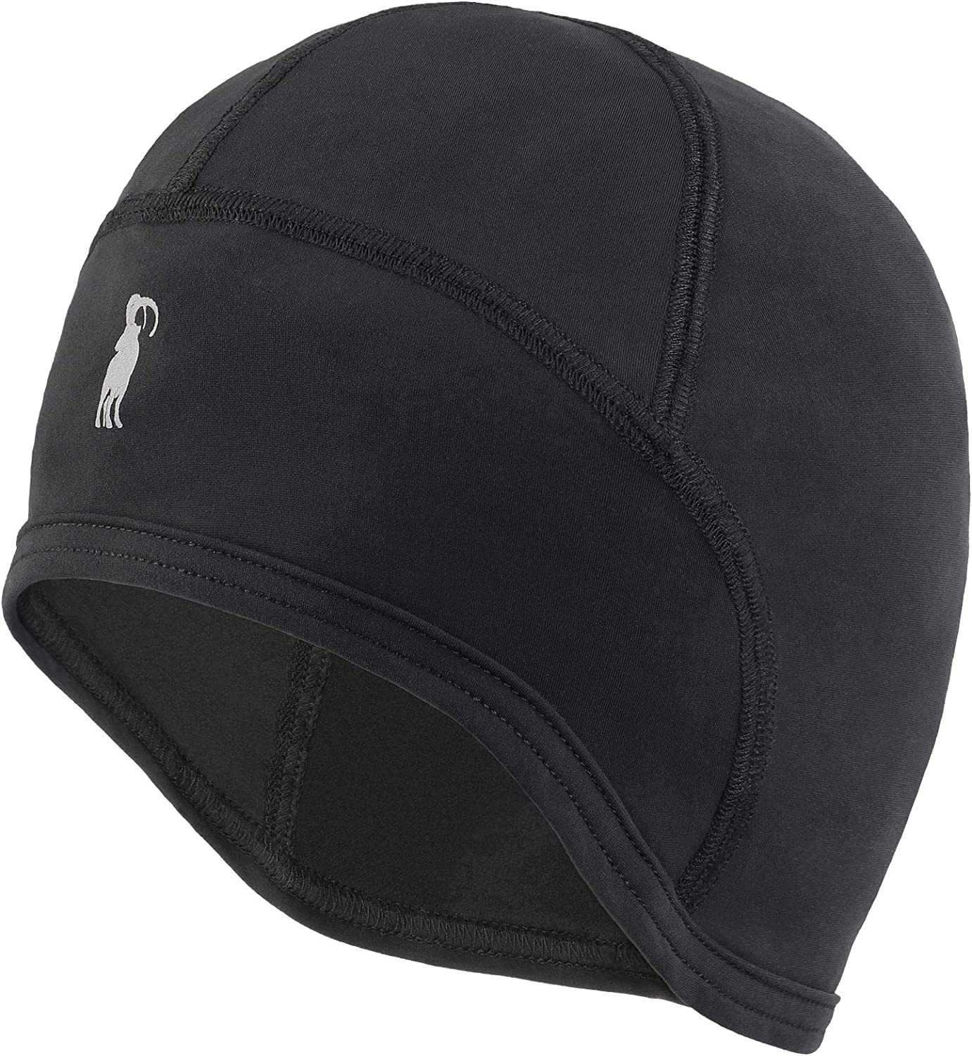 ALPIDEX Thermal Helmet Liner Skull Cap Cycling Beanie Stretchable Hat Thight Fit Regular Size
