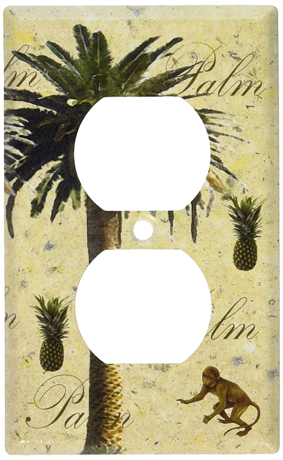 Art Plates - Palm Tree Switch Plate - Outlet Cover - Switchplates ...