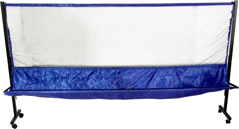 Practice Partner - Red recogepelotas para Tenis de Mesa, Color Azul