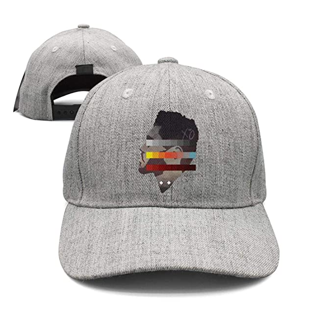 The Weeknd Side Face Colorful Painting Unisex Grey Trucker Hat for Mens  Womens Cool Caps  Amazon.ca  Clothing   Accessories 45b9a93f8bee