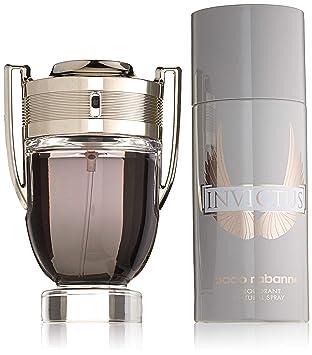 ba2769556fe Paco Rabanne Coffret Invictus 100 ml EDT 150 ml + déodorant  Amazon ...