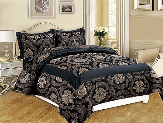 5 opinioni per Lusso 3Pezzi (pezzo) Jacquard trapuntato copriletto copriletto comforter set