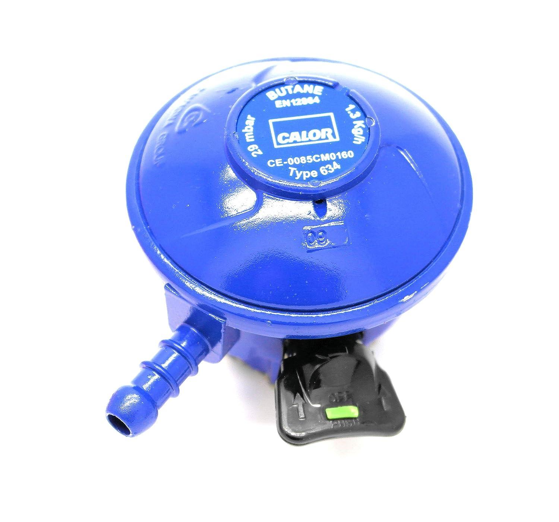 CALOR GAS Brand Butane Gas Regulator For 21Mm Cylinders 5 Year Warranty
