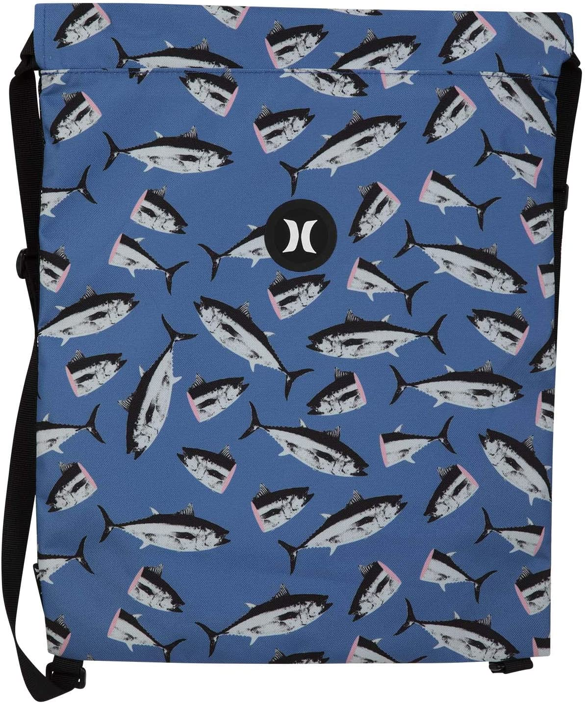 Hurley U Beach Cinch Printed Bolsa Hombre Pacific Blue 1SIZE
