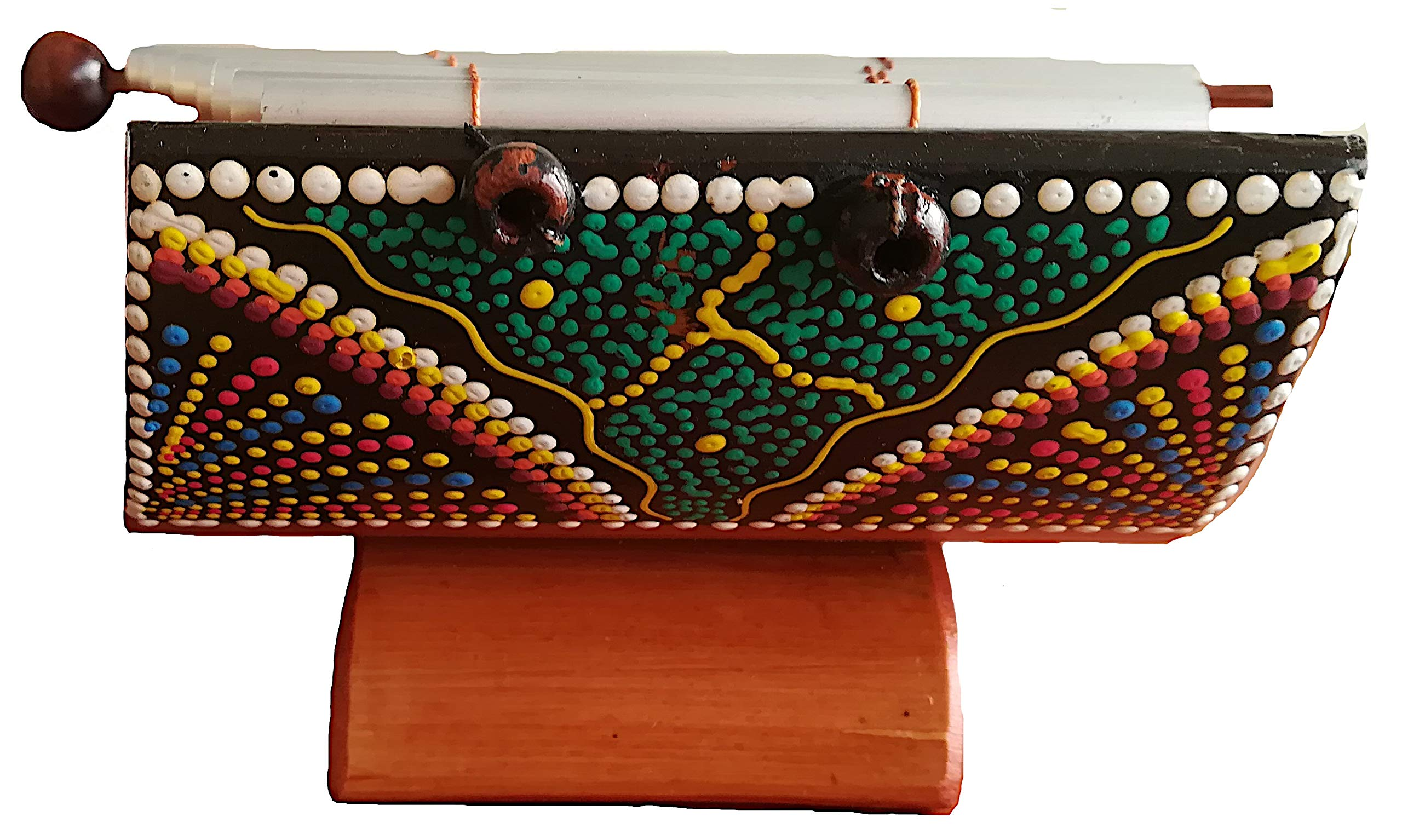 Alpakaandmore Peruvian Marimba Percussion Musical Instrument Amazonas Handmade