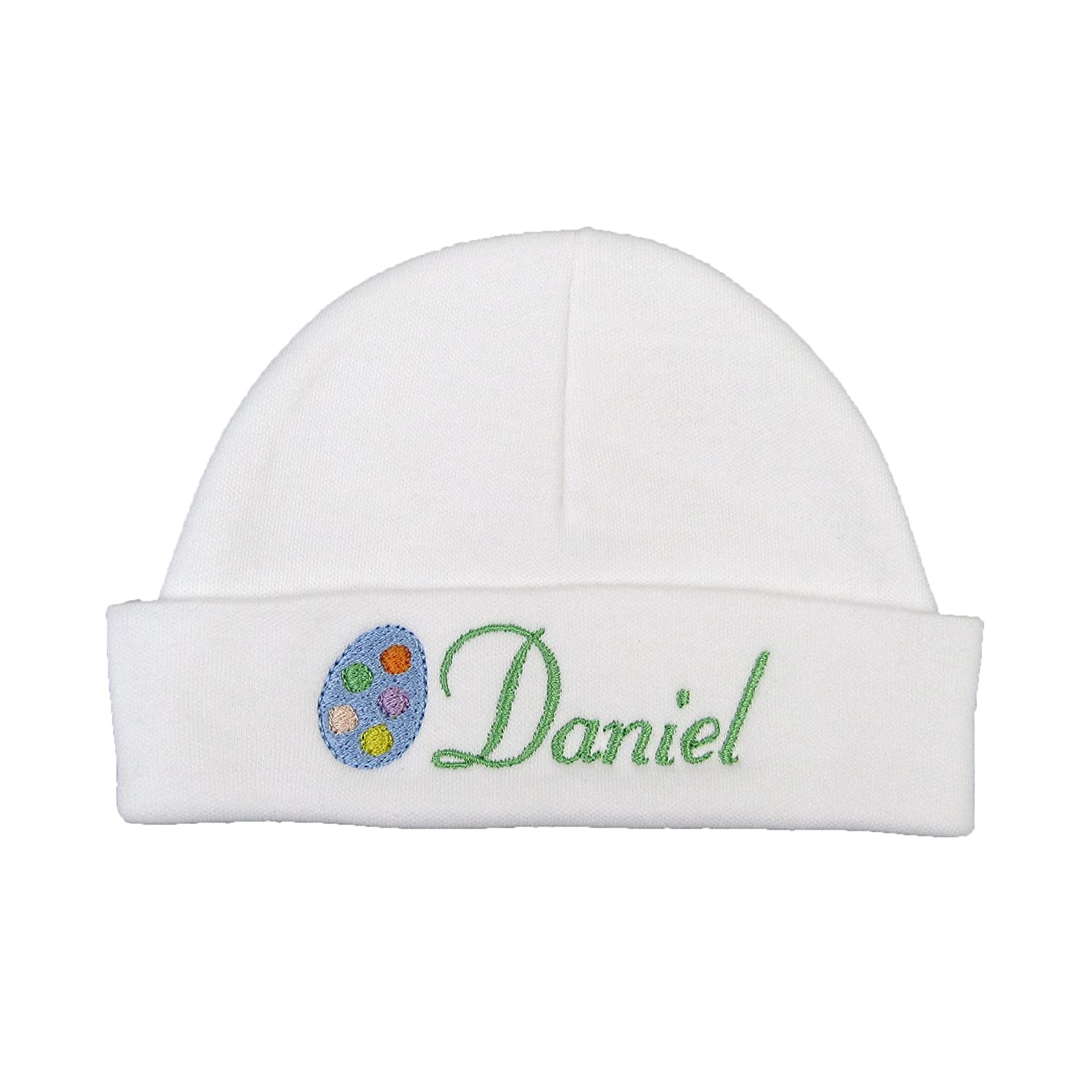 Amazon.com  Personalized Easter Baby Hat for Baby boy or Baby Girl with  Embroidered Easter Egg  Clothing a5384e9feb48