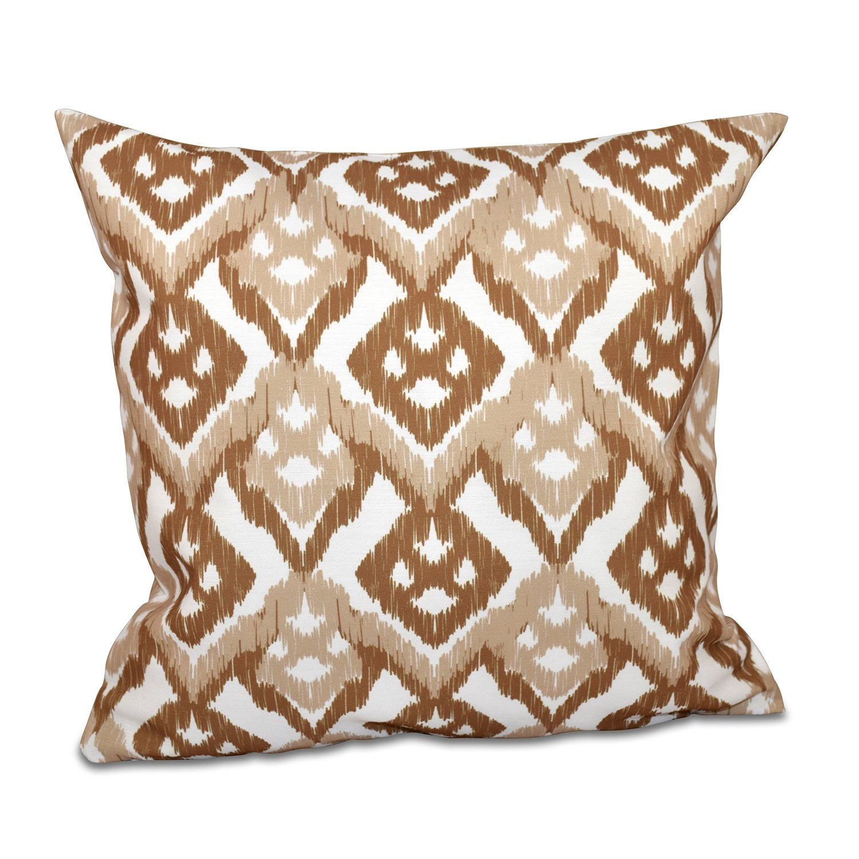 E by design O5PGN540TA6BR3-20 Printed Outdoor Pillow